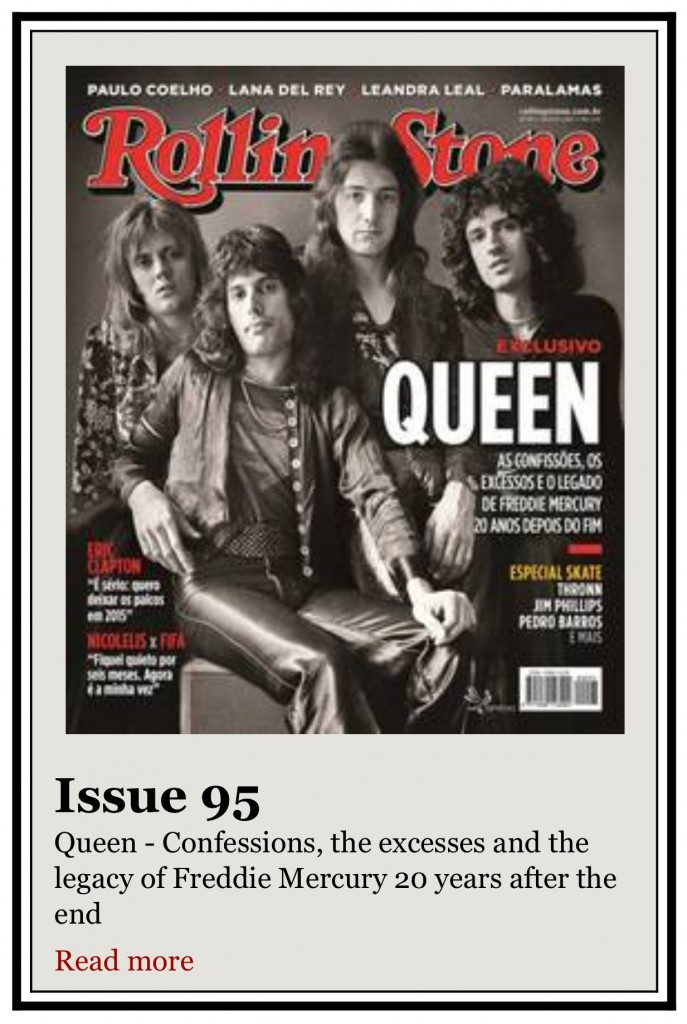 Rolling Stone Magaine Brazil August 2014 - Jim Phillips Interview
